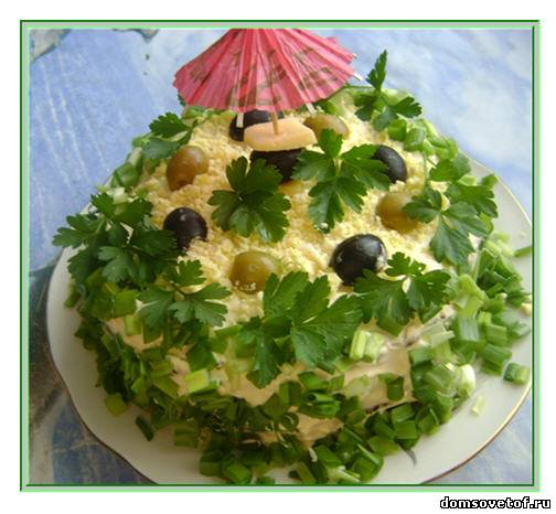 приготовление торта из печени, оформление печеночного торта