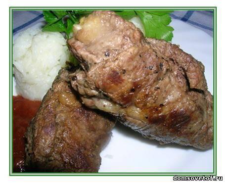Рецепты мясные: рулетики из говядины на праздник