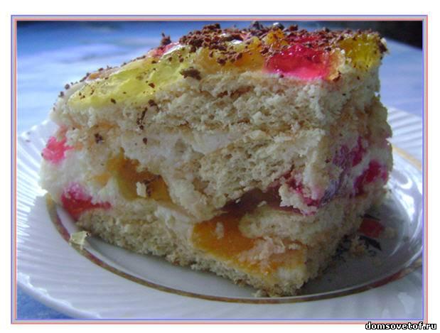 Пошаговый фото рецепт торт битое стекло
