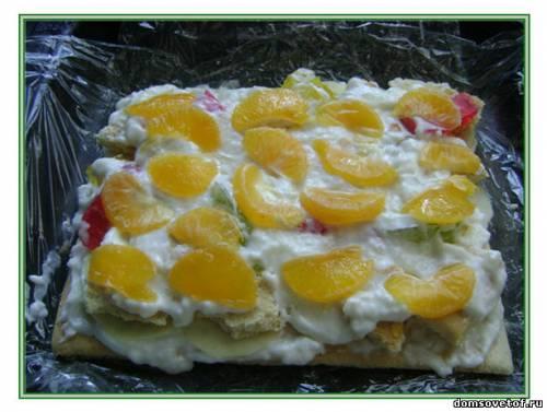 "alexa_fox: Торт  ""Битое стекло "" с желе без выпечки.  Пошаговый фото-рецепт."