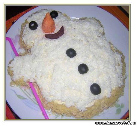 Праздничные рецепты. Салаты на Новый год