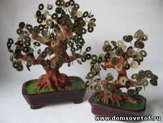 Денежная дерево из купюр своими руками