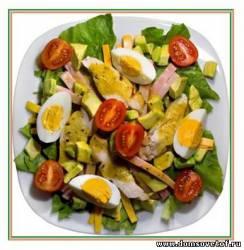 Салаты без майонеза. Рецепты вкусных салатов
