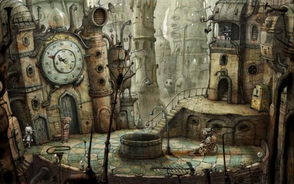 Обзор увлекательной игры с роботами Machinarium
