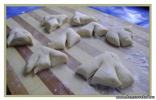 Как сделать тесто для вергунов на