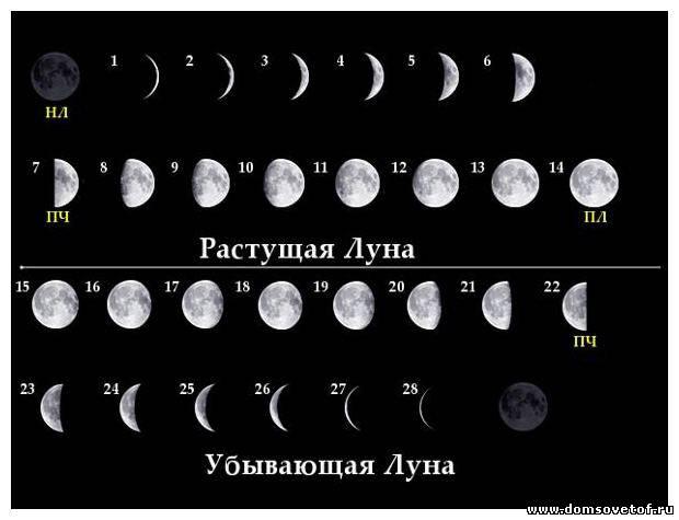обычно изготавливается когда убы вающая луна ОЗНАЧАЕТ