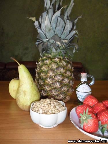 приготовление фруктового салата рецепт