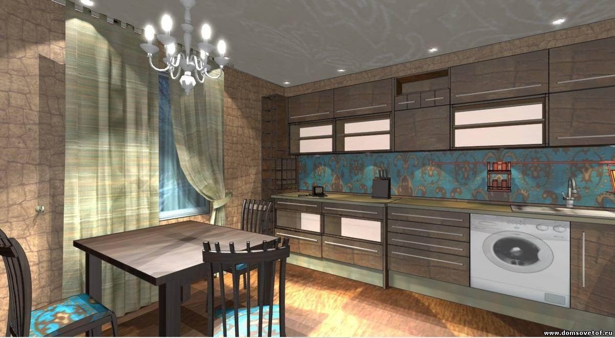 Готовые дизайны кухонь