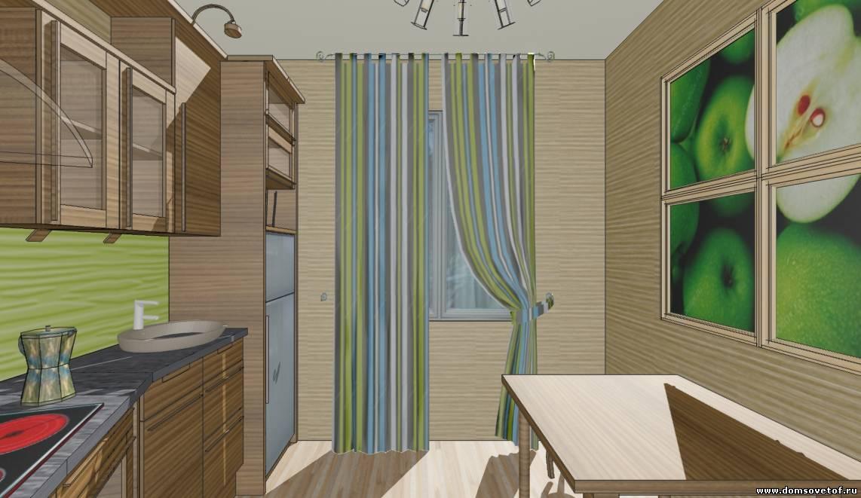 По теме дизайн кухни 4 кв м в хрущевке