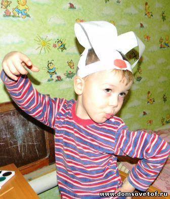 Уши зайчика для мальчика своими руками фото 33