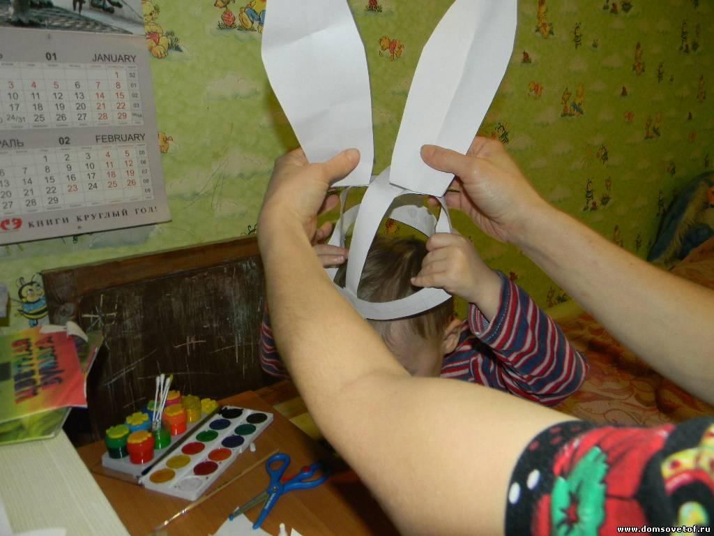 Новогодние костюмы зайца своими руками