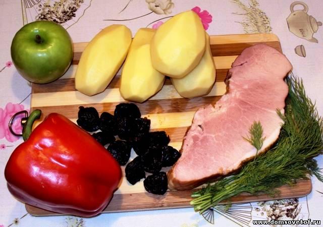 картофель и другие продукты для запекания в фольге