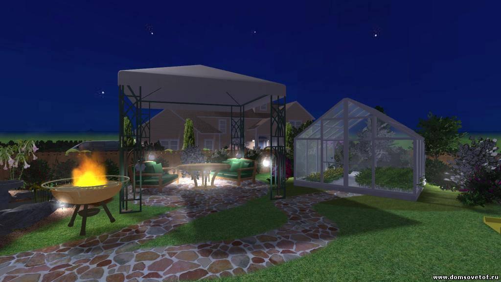 Дизайн огорода сада на дачном участке