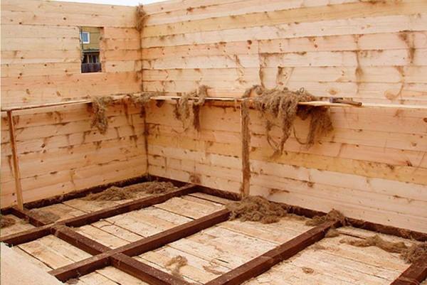 Баня из бруса - баня за месяц