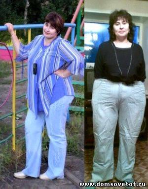 фото до и после похудевших система минус 60
