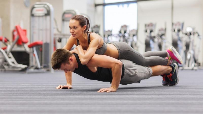 Полезный синод : Лучшая схематическое изображение отжиманий через пола для всех груп мышц