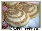 Рецепты печенья с фото - 3. Вкусное домашнее печенье. Соленое печенье с сыром. Двухцветное печенье песочное