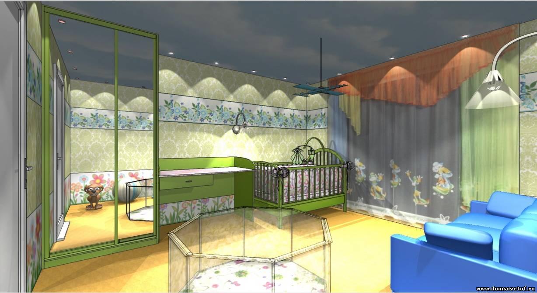 Дизайн комнаты для двух взрослых и двух