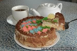 рецепт торта киевского