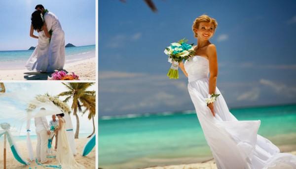 свадьба на песке