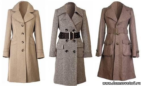 Пальто из твида 25 рисунки пальто с