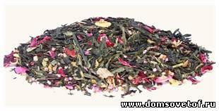 Чай с травами, мятой, душицей, зверобоем, пижмой и чабрецом