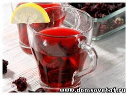 Чай каркаде, его полезные свойства