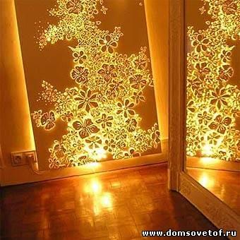 Как сделать светильник своими руками на стену