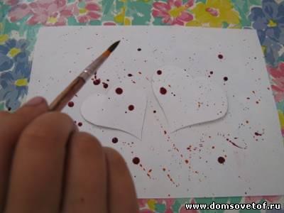 Как сделать брызги краской на 265