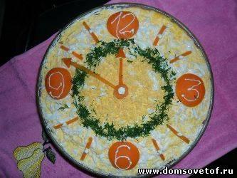 салат на новый год - австрийский салат с горбушей