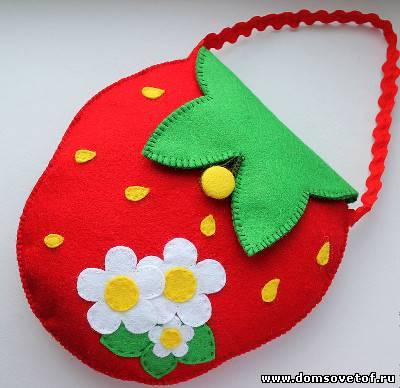 Подарки из фетра для детей