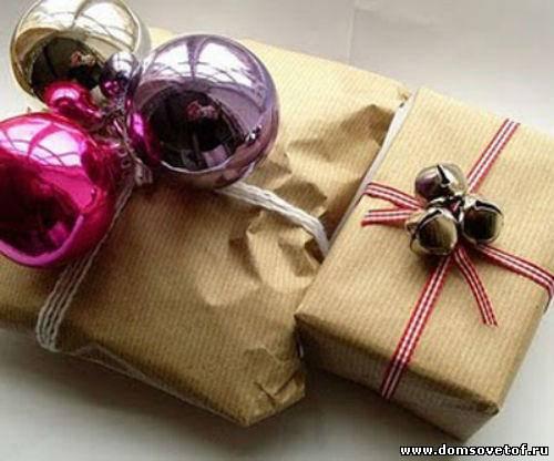 как красиво упаковать подарок, самостоятельная упаковка подарков