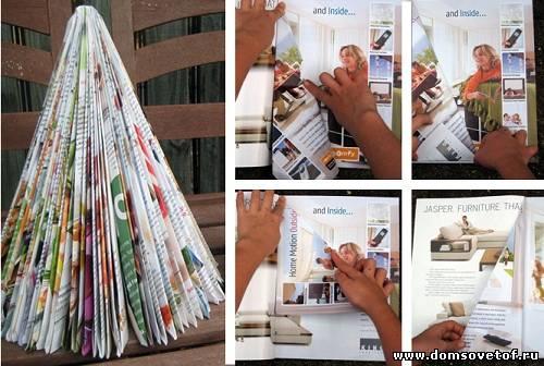 Как сделать журнал из бумаги