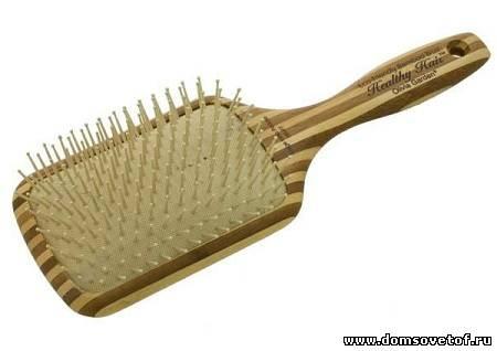 Купить деревянная расческа для волос