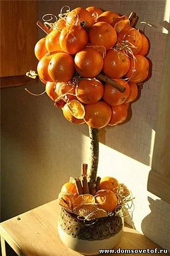 208Как сделать дерево счастья из ленточек