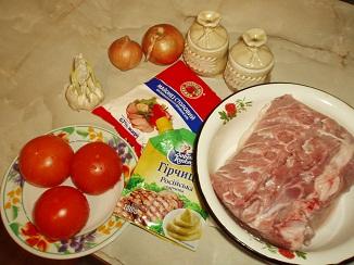 Грудка индейки, нашпигованная салом и яблоками, пошаговый рецепт с фото