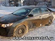 грязная машина, мыть ли автомобиль зимой