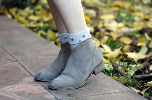 как модно носить носки
