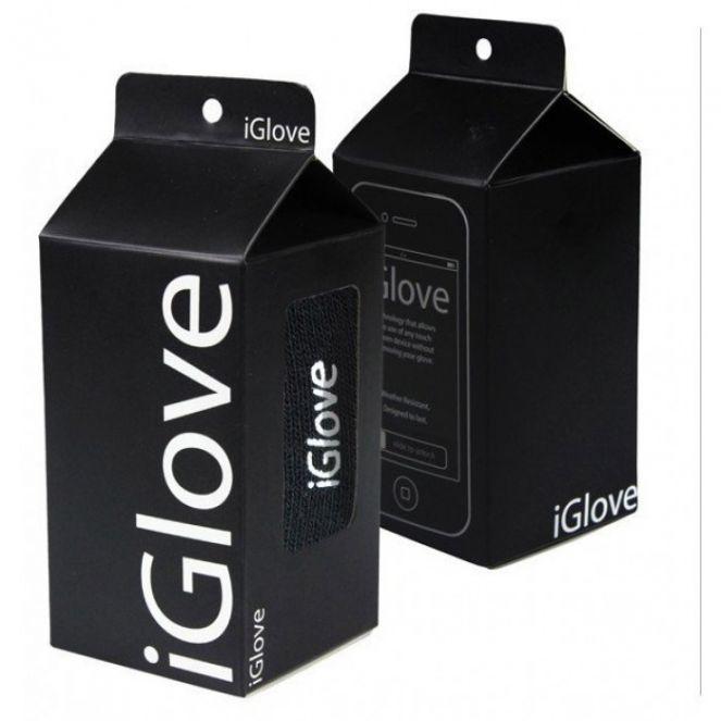 Полезный совет : iGlove перчатки для работы с емкостными экранами iPhone , iPad , Samsung black: цены, отзывы, где купить