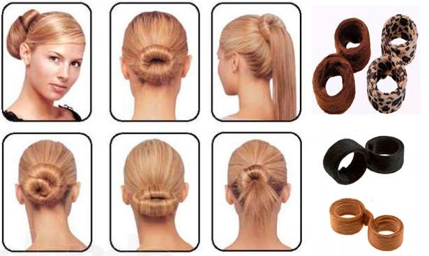 Полезный совет : Набор заколок Hairagami Bun Tail