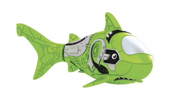 Полезный совет : РобоРыбка Robofish Акула зеленая (электромагнитный мотор, активируется в воде): цены, отзывы, где купить