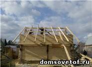 Фото.Как построить баню на даче. Строим баню своими руками.