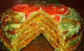 Полезный совет : Рецепт приготовления капустного торта с фаршем