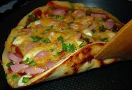 Полезный совет : Быстрая пицца на сковороде