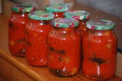 Полезный совет : Рецепт приготовления баклажанов в томате на зиму