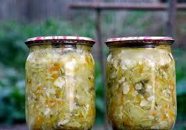 Полезный совет : Рецепт приготовления закусочных кабачков на зиму