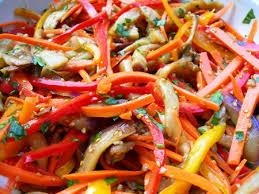 Полезный совет : Рецепт приготовления баклажанов по-корейски