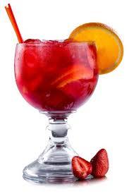 Полезный совет : Как сделать алкогольный коктейль «Клубничный драйв» с красным вином