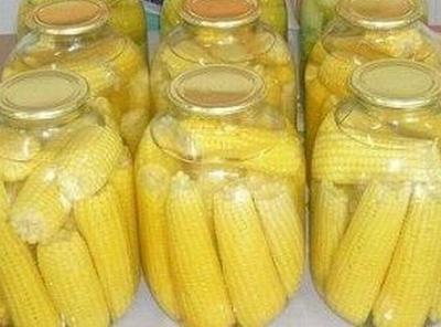 Полезный совет : Как приготовить маринованную кукурузу целиком