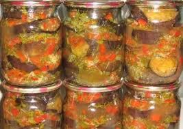 Полезный совет : Рецепт приготовления баклажанов «Козачек» на зиму